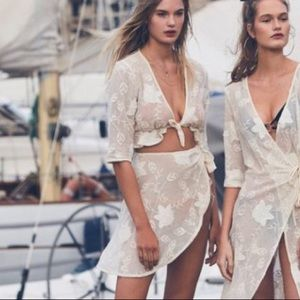 For love and lemons 2 piece swim cover up